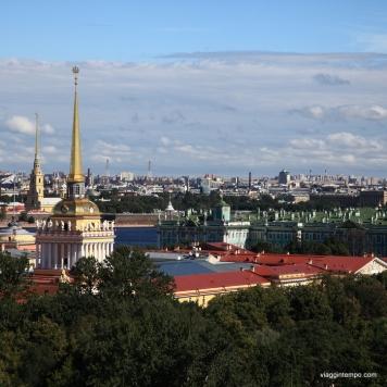 San Pietroburgo, Panorama dalla Cattedrale di Sant'Isacco