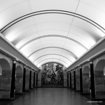 San Pietroburgo, Metropolitana