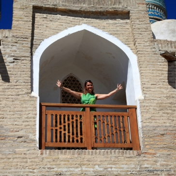 Bukhara: moschea Chor-Minor