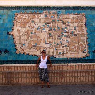 Khiva: Mappa della Cittadella