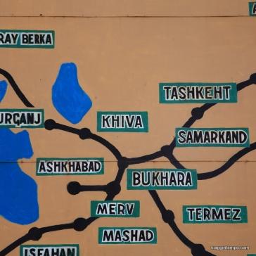 Bukhara sulla Via della Seta