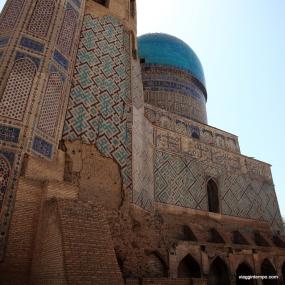 Moschea Bibi Khanum, Samarcanda, Uzbekistan