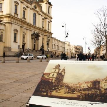 Varsavia, Quadri del Canaletto