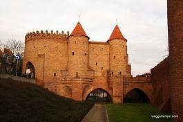 Varsavia, Barbacane-Esterno
