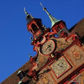 Tubingen - Municipio sulla MarktPlatz