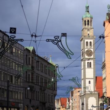 Augsburg (Augusta), Romatische Strasse
