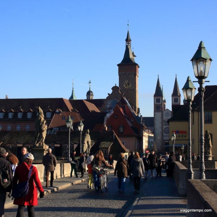 Alte MainBruecke, Würzburg, Romantische Strasse