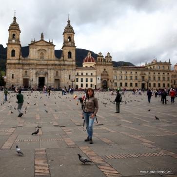 Bogotà, Piazza Simon Bolivar