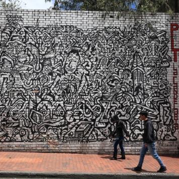 Bogotà, Graffiti della Candelaria
