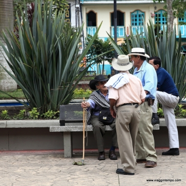Pijao, Piazza Bolivar