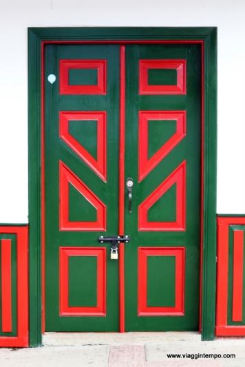 Salento, Porte Colorate