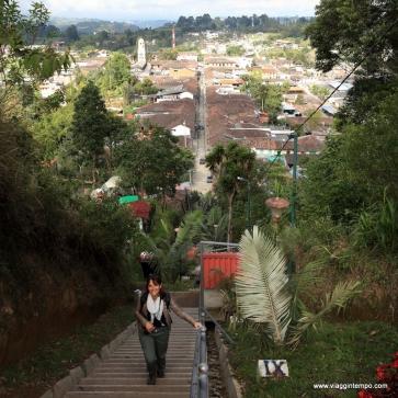 Salento, La scalinata per il Mirador