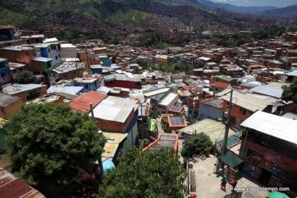 Medellin, Panorama della Comuna 13