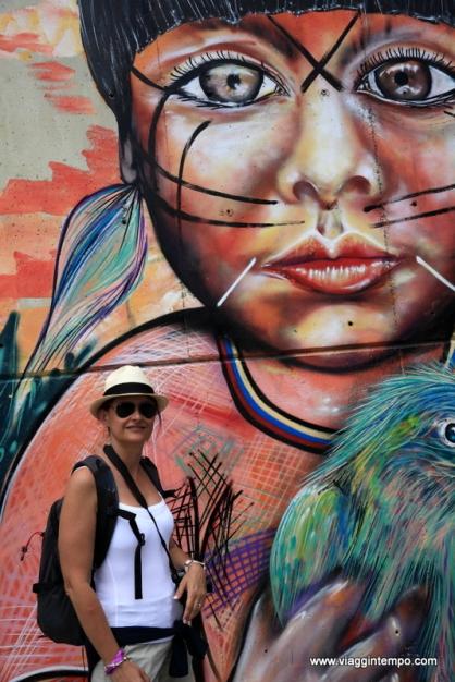 Medellin, Graffiti della Comuna 13