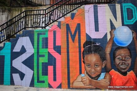 Medellin, Graffiti nella Comuna 13