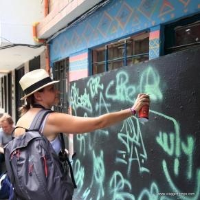 Medellin, Graffito anche io!